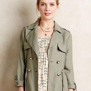 Anthro Linen Jacket